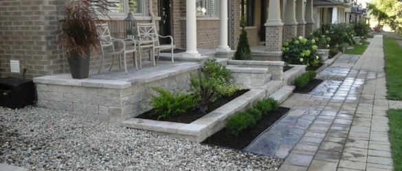 Lawn and Patio Landscape - Ottawa Landscaping